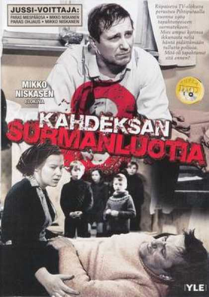 Finnish DVDs - Eight Deadly Shots