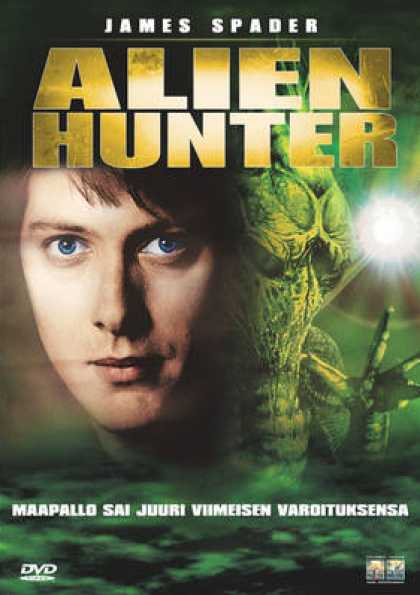 Finnish DVDs - Alien Hunter