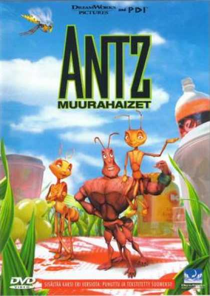 Finnish DVDs - Antz