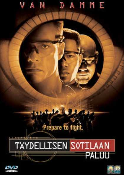 Finnish DVDs - Universal Soldier: The Return