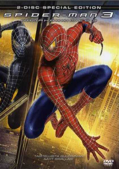 Finnish DVDs - Spider-Man 3