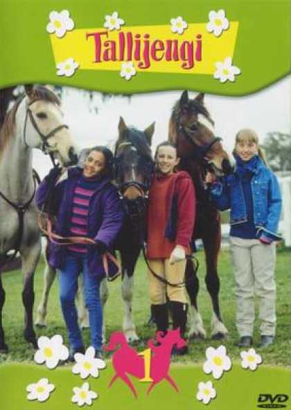 Finnish DVDs - The Saddle Club