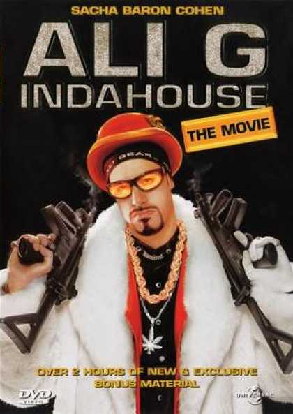 Finnish DVDs - Ali G In Da House