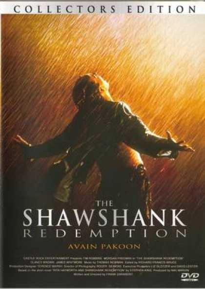 Finnish DVDs - Shawshank Redemption