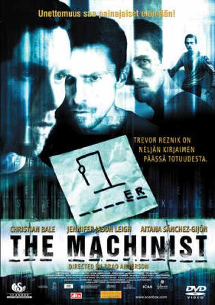 Finnish DVDs - The Machinist