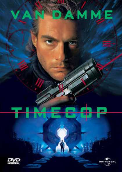 Finnish DVDs - Timecop