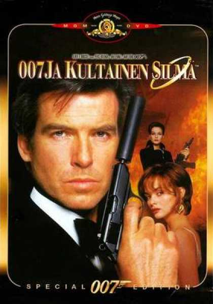 Finnish DVDs - James Bond GoldenEye