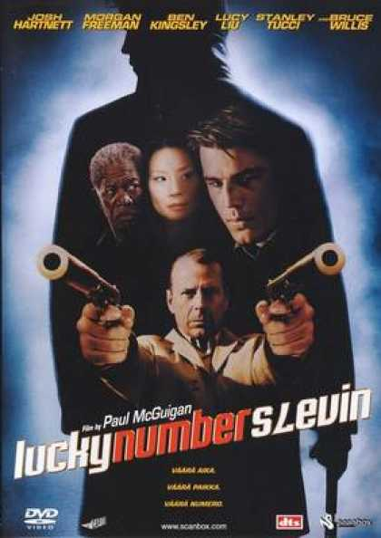 Finnish DVDs - Lucky Number Slevin