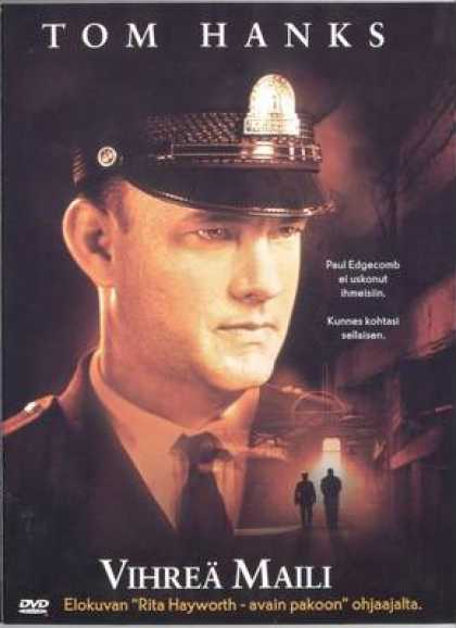 Finnish DVDs - The Green Mile