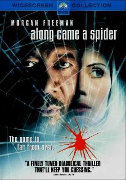 Finnish DVDs - Along Came A Spider