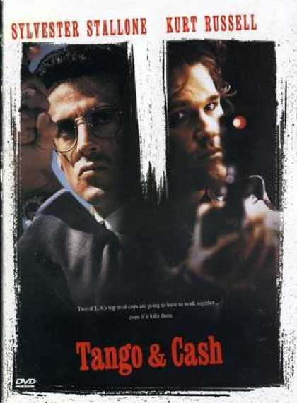Finnish DVDs - Tango And Cash