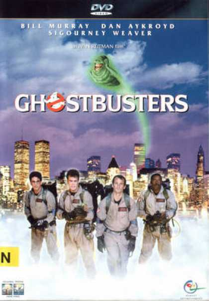 Finnish DVDs - Ghostbusters
