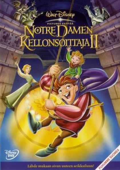 Finnish DVDs - The Hunchback Of Notre Dame 2