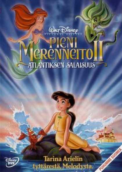 Finnish DVDs - The Little Mermaid 2