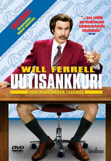 Finnish DVDs - Anchorman