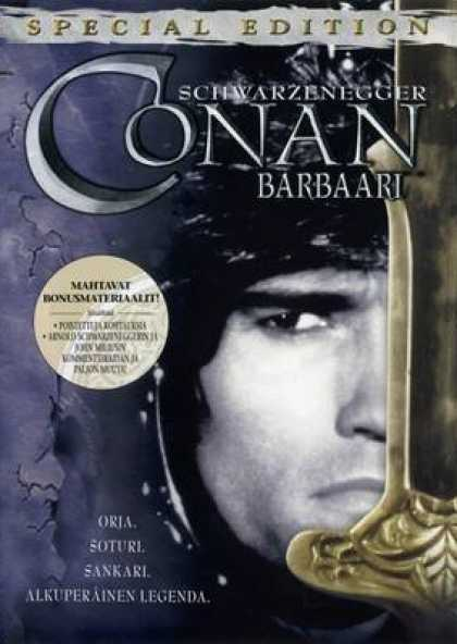 Finnish DVDs - Conan The Barbarian