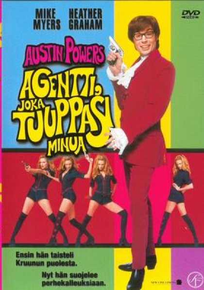 Finnish DVDs - Austin Powers The Spy Who Shagged Me