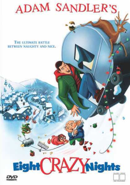 Finnish DVDs - Eight Crazy Nights