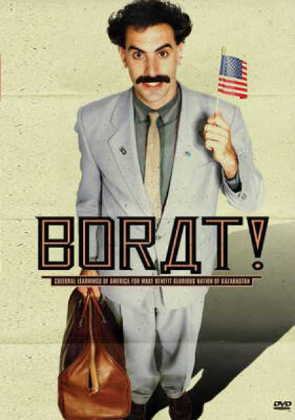 Finnish DVDs - Borat