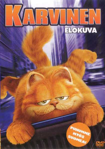 Finnish DVDs - Garfield The Movie