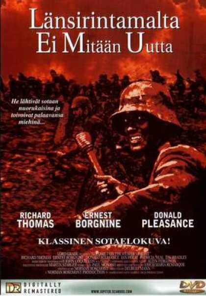 Finnish DVDs - All Quiet On The Western 1979