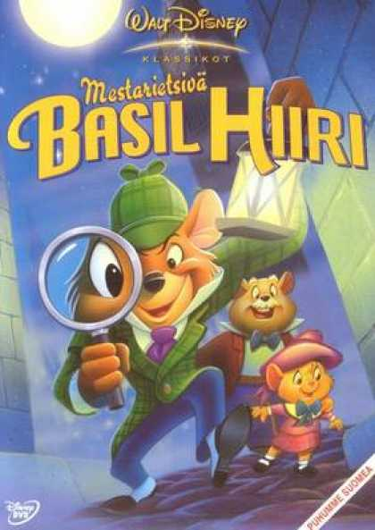 Finnish DVDs - Basil The Great Mouse Detective