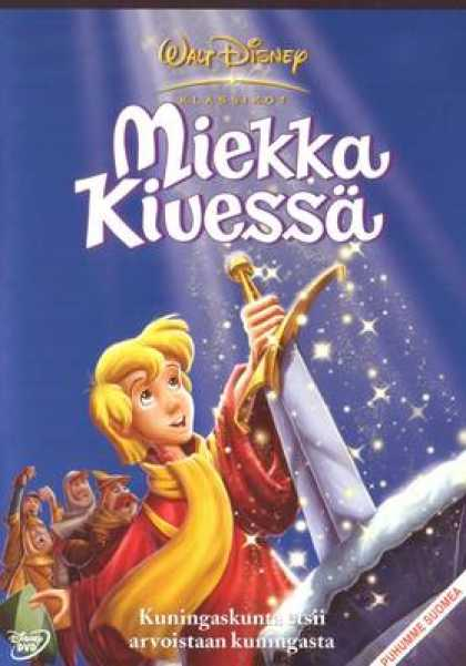 Finnish DVDs - The Sword In The Stone