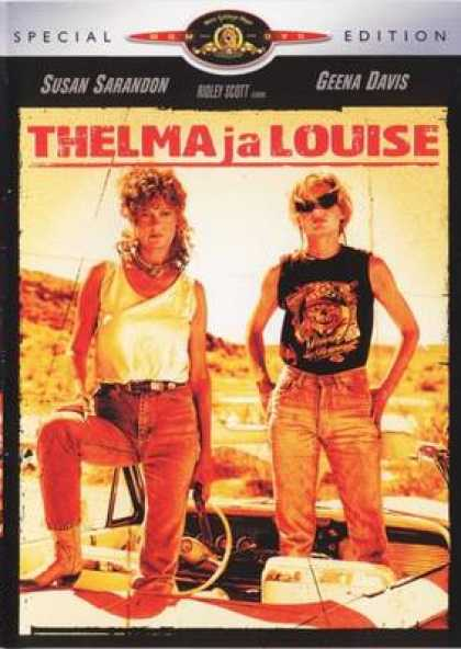 Finnish DVDs - Thelma And Louise