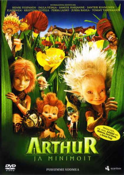 Finnish DVDs - Arthur And The Minimoys