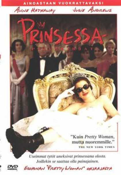 Finnish DVDs - The Princess Diaries