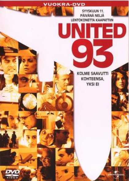 Finnish DVDs - United 93