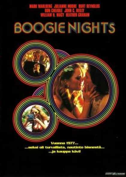 Finnish DVDs - Boogie Nights