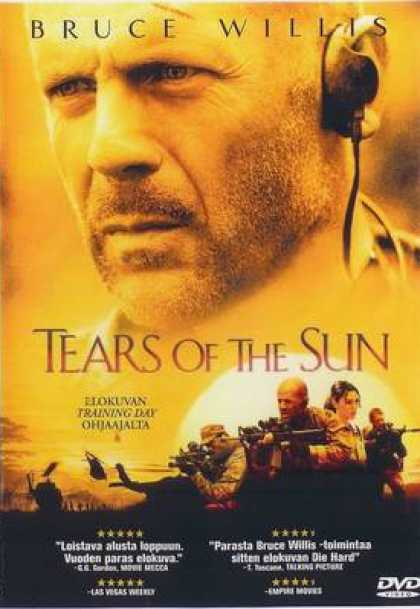 Finnish DVDs - Tears Of The Sun