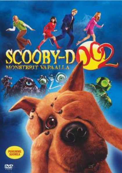Finnish DVDs - Scooby-Doo 2 Monsters Unleashed