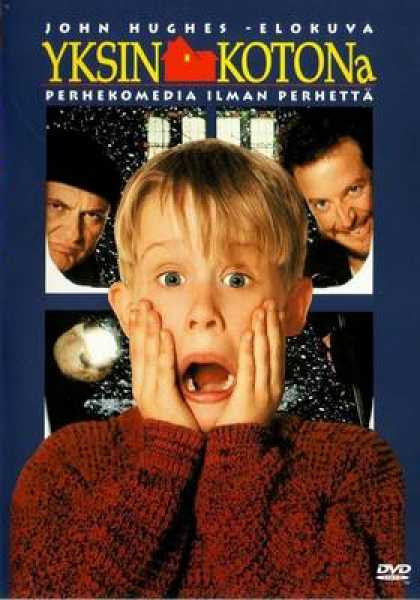 Finnish DVDs - Home Alone