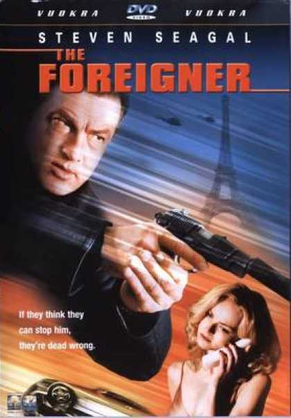 Finnish DVDs - The Foreigner