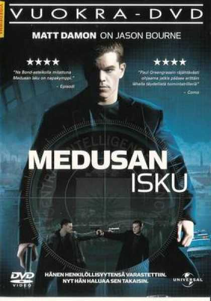 Finnish DVDs - The Bourne Supremacy