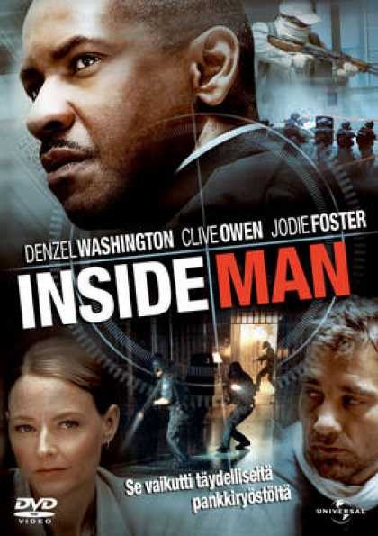 Finnish DVDs - Inside Man