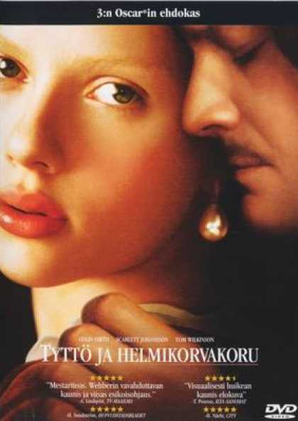 Finnish DVDs - Girl With A Pearl Earring