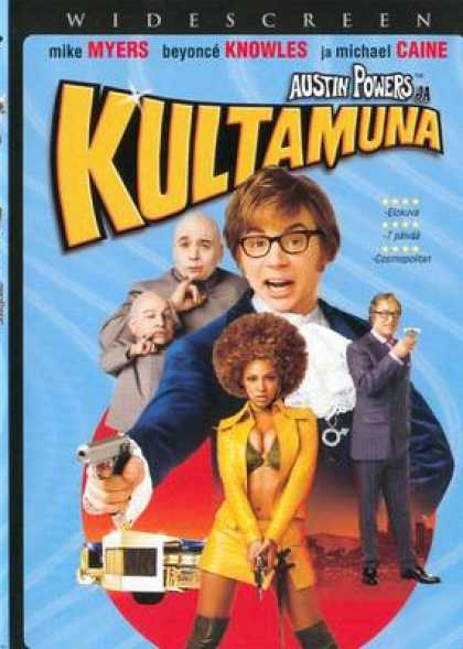 Finnish DVDs - Austin Powers Goldmember