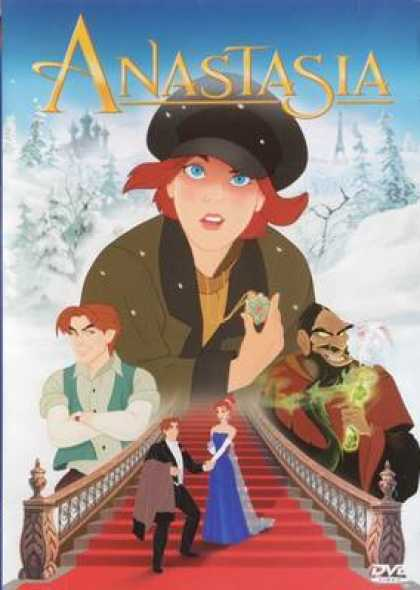 Finnish DVDs - Anastasia