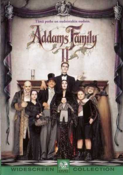 Finnish DVDs - The Adams Family 2