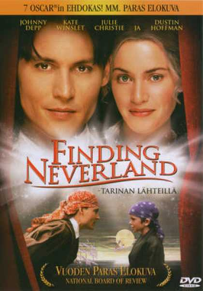 Finnish DVDs - Finding Neverland