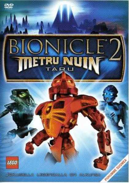 Finnish DVDs - Bionicle 2: Legends Of Metru Nuin