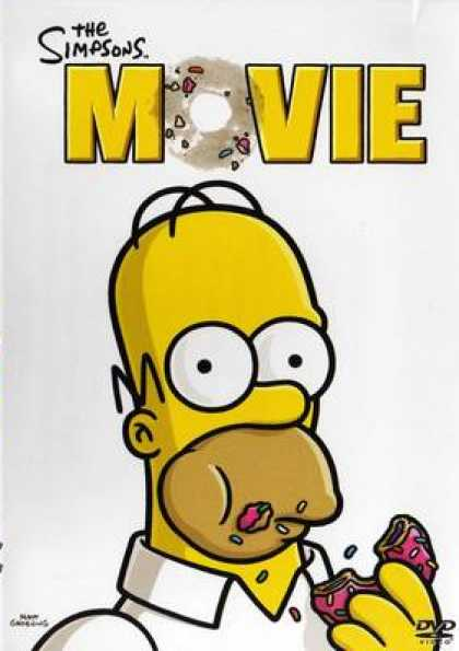 Finnish DVDs - The Simpsons Movie