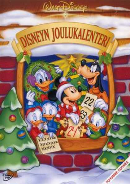 Finnish DVDs - Disney Countdown To Christmas
