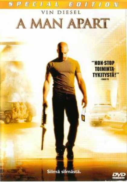 Finnish DVDs - A Man Apart