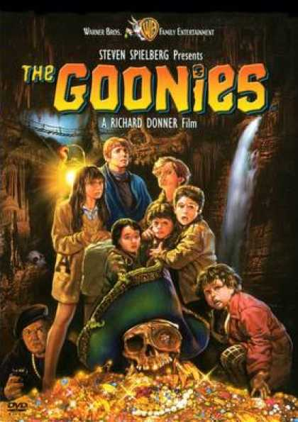 Finnish DVDs - The Goonies