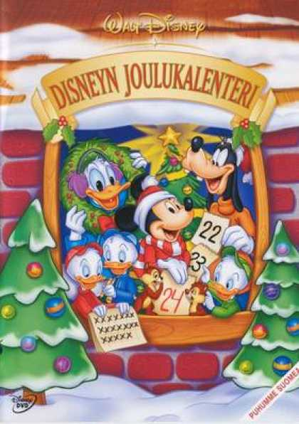 Finnish DVDs - Countdown To Christmas