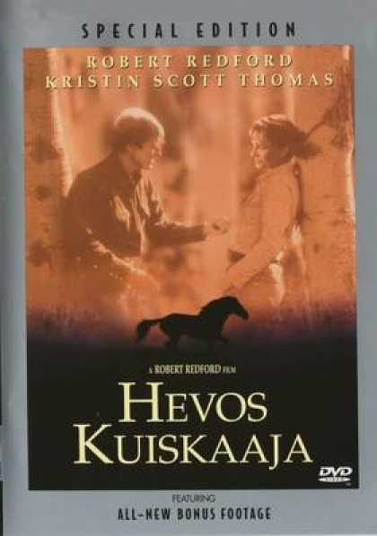 Finnish DVDs - The Horse Whisperer